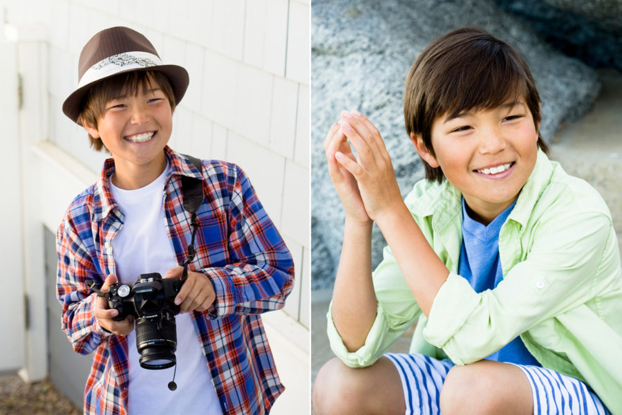 Portrait Photography for youth actors in Southern Humboldt, professional business portrait