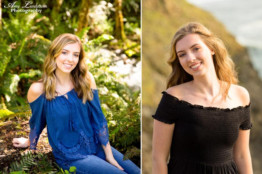 High School Senior Photoraphy; Humboldt California photographer; HS Senior Photos