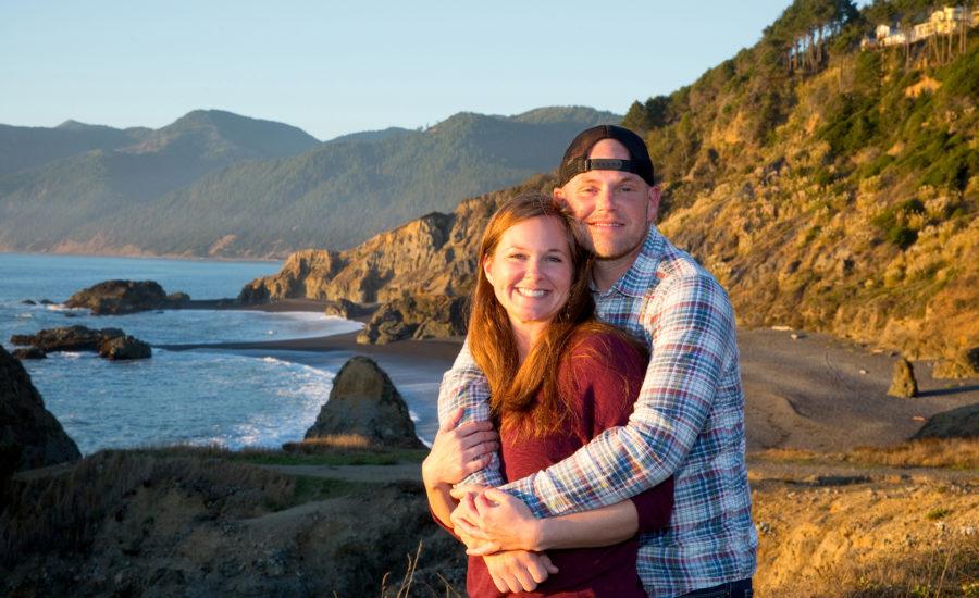 engagement photographer lost coast ca